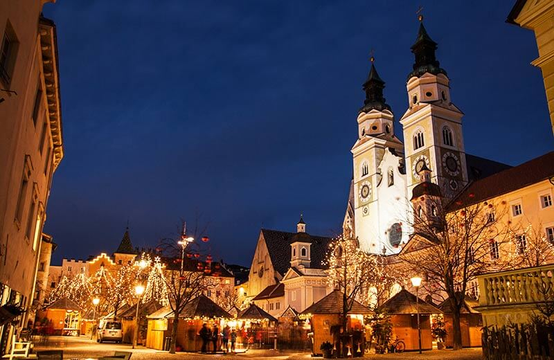 Bressanone Christmas Market in South Tyrol, Italy   2020 / 2021